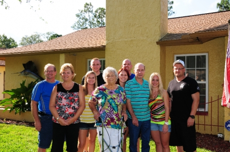 We had a great time today at Lisa & Paul's to celebrate Uncle Bob's 80th Birthday! It was great to see everyone!