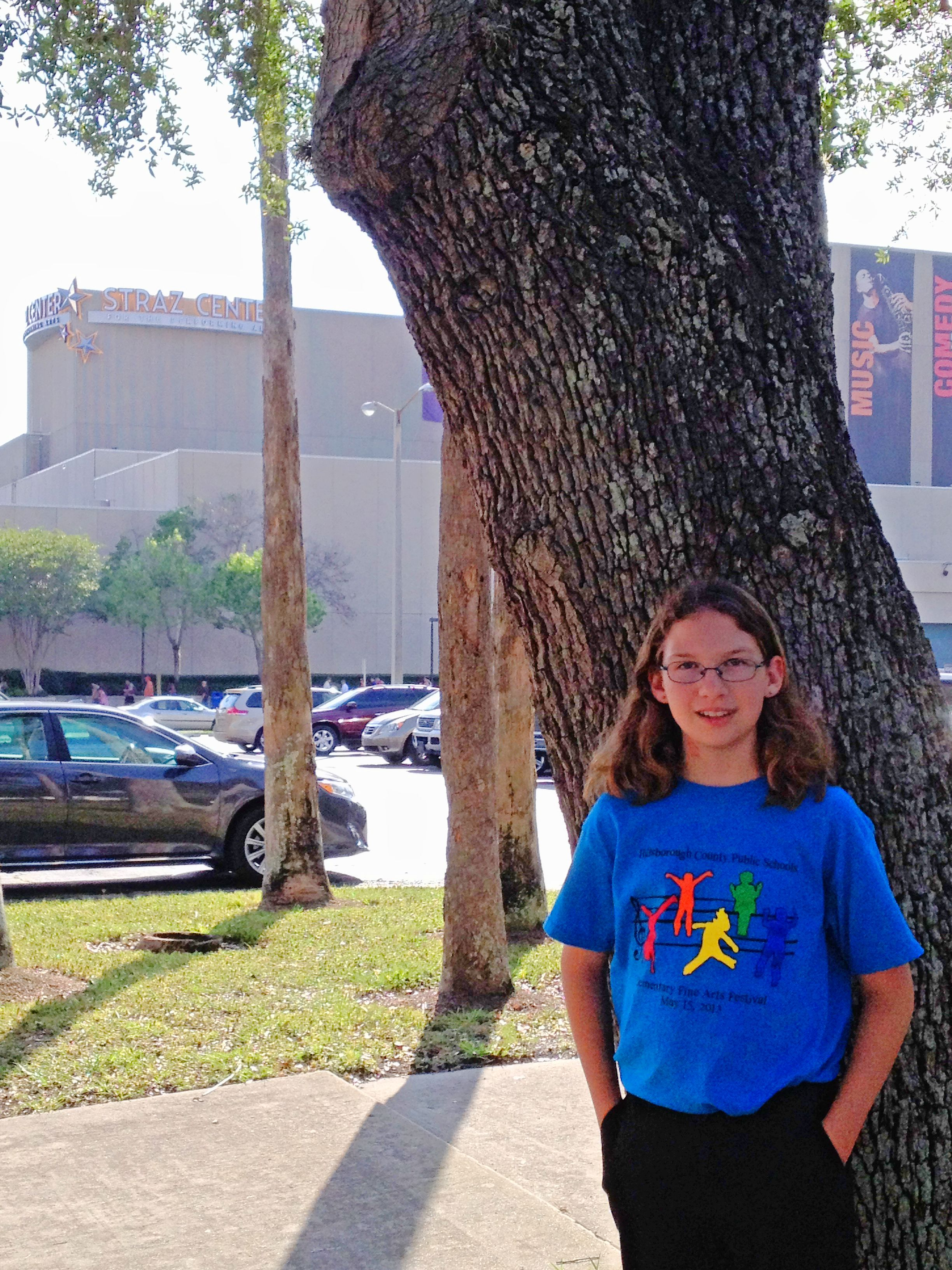 Emily Performs in Hillsborough All County Chorus